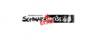 Schwarzweiss Extra Titelbild ohne Nummer Comic Cartoon