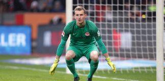 Lukas Hradecky hütet seit Sommer 2015 das Tor der Eintracht.