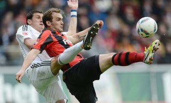 Erwin Hoffer tat sich mit der Eintracht schon in der 2. Liga gegen Ingolstadt schwer.