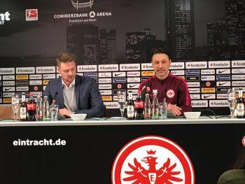Niko Kovac zeigte sich bei der Pressekonferenz gut gelaunt.