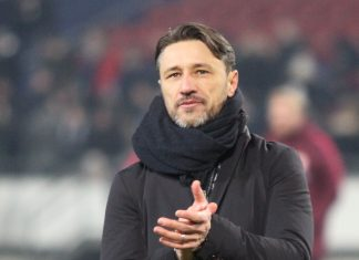 Niko Kovac sah seine Mannschaft im Vorteil und freut sich über einen verdienten Sieg.