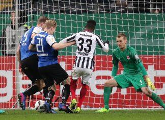 Wurde von der Bielefelder Offensive mehr als nur einmal geprüft: Lukas Hradecky
