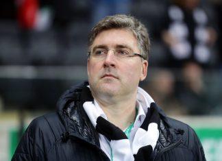 Eintracht-Vorstand Axel Hellmann hat den Stadion-Ausbau fest im Blick.