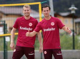 Lukas Hradecky und Heinz Lindner bildeten ein eingespieltes Torwart-Team.