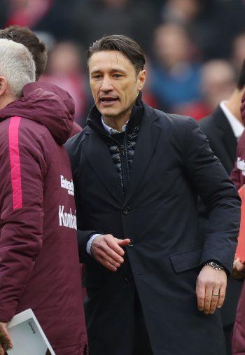 Eintracht-Trainer Niko Kovac nach dem Spiel in München.