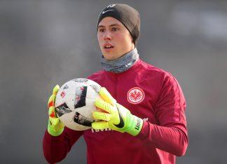 Heinz Lindner steht bei der SGE zumeist nur im Training auf dem Platz.