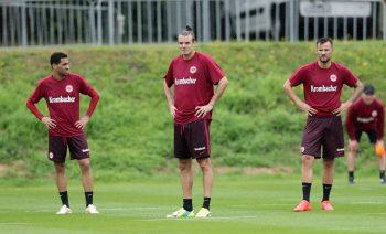 Überrascht Niko Kovac gegen Gladbach mit der Doppelspitze Meier und Seferovic?