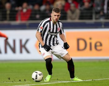 Wie schon seit Wochen machte Ante Rebic auch in München ein auffälliges Spiel.