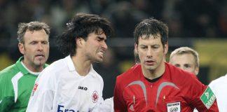 Chris (links) fühlte sich mit der Eintracht im Herbst 2007 um den Sieg in Dortmund gebracht.