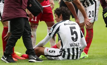 Der Spanier Jesus Vallejo fällt verletzungsbedingt bis zum Saisonende aus.