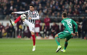 Mascarell ist der fleißige Helfer im Mittelfeld der Eintracht.