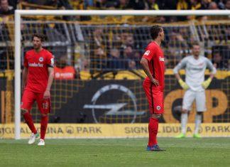 Die Eintracht steht am Ende wieder mit leeren Händen da und ist nun seit 10 Spielen sieglos.(Foto: imago/Eibner)