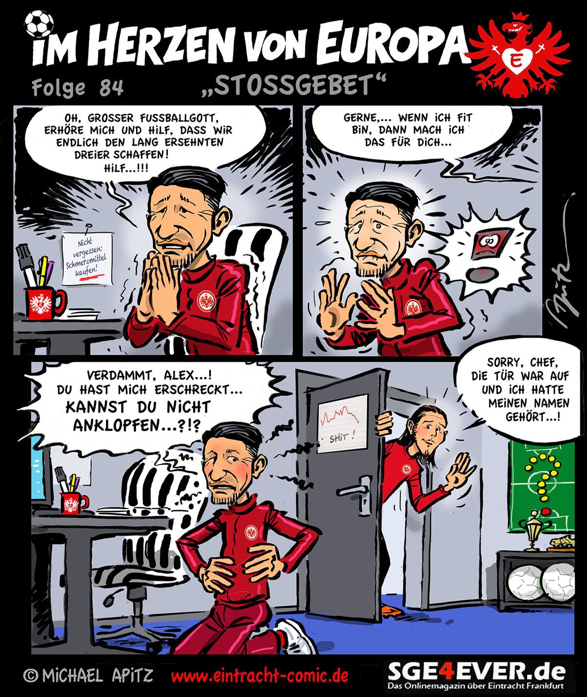 Spieltagscomic Stossgebet Sge4ever De Das Onlinemagazin Uber Eintracht Frankfurt