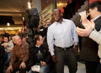 Anthony Yeboah ist auch heute noch ein gern gesehener Gast in Frankfurt.