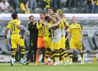 Eintracht muss sich gegen Dortmund im Finale geschlagen geben.