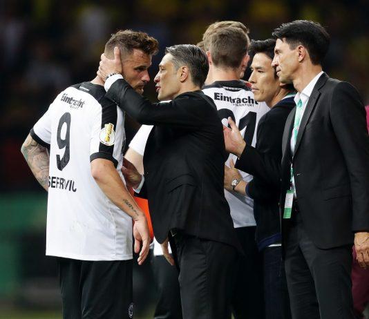 Eintracht-Coach Niko Kovac war trotz der Niederlage zufrieden mit der Leistung seines Teams