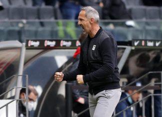 Möchte gegen Borussia Dortmund möglichst einen Sieg einfahren: Eintracht-Trainer Adi Hütter.